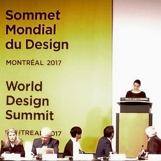 Montréal Design Declaration: FOR. was there.