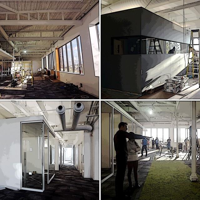 TV5 under construction