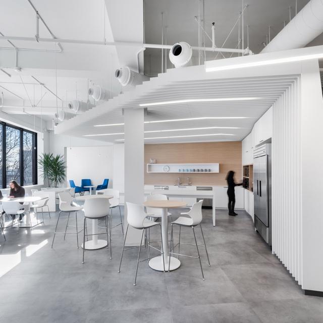 Concrétiser une vision: des espaces de travail hors du commun